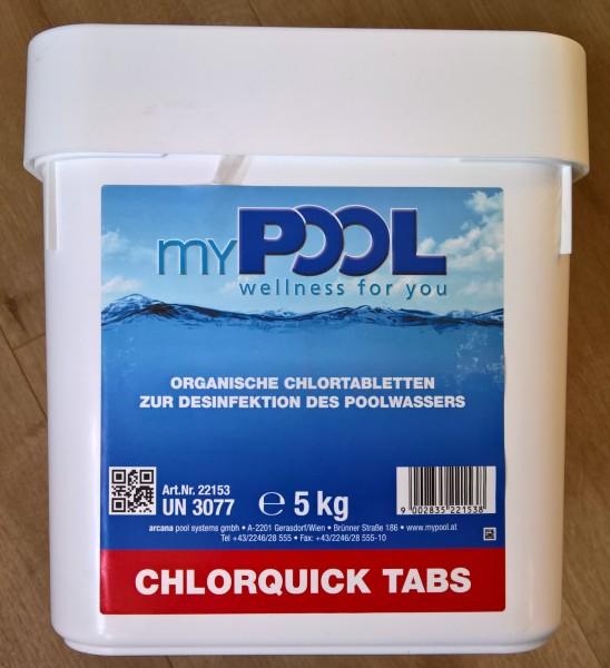 myPOOL Chlorquick Tabs
