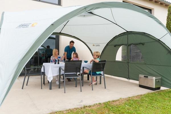 Event Shelter Seitenteil mit Tür 4,5 x 4,5 m