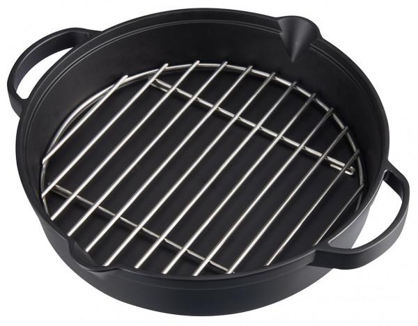 Campingaz Culinary Modular Gusseiserne Pfanne mit Grillrost