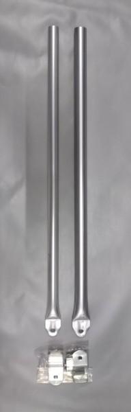 Schellenstab Alu Ø 25 mm 80 - 120 cm