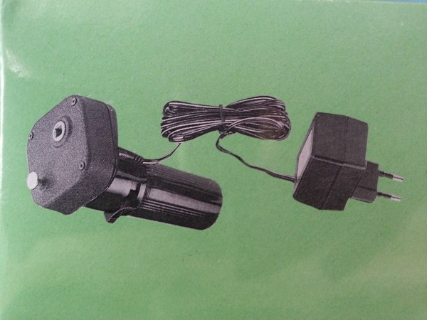 TGO Kombi Grillmotor für Batterie und 230V