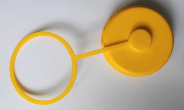 Schraubdeckel mit Halteband 10 cm