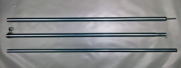 Aufstellstange Stahl Ø 22 mm 180 - 250 cm