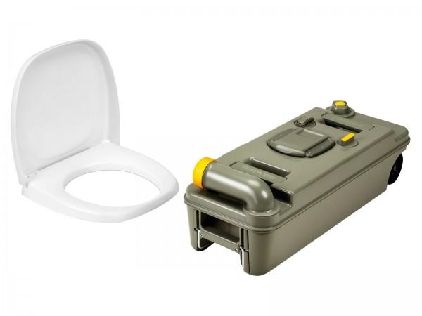 Thetford Fresh Up Set für C2/3/4 Toilette, RECHTS, neues Modell mit Räder