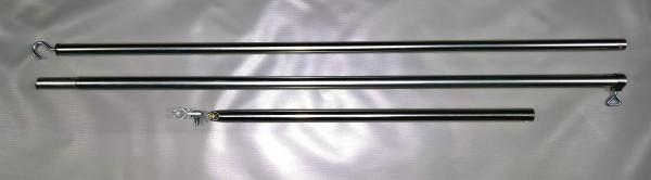 Firststange Stahl Ø 25 mm 300 cm