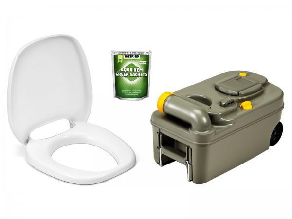 Thetford Fresh-Up Set für C200 + WC-Sitz, neues Modell mit Räder