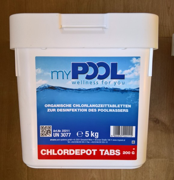 myPOOL Chlordepot Tabs