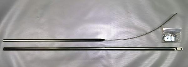 Spannstange gebogen Stahl Ø 22 mm 160 - 210 cm
