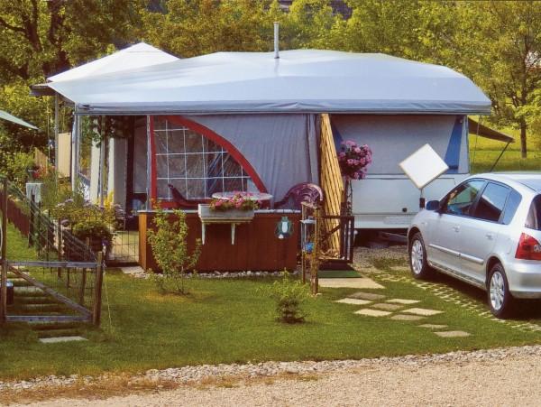 Nellen Wohnwagen-Schutzdach Typ 3 Das Komplette