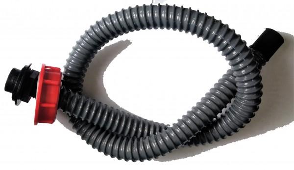 Verbinder mit 1m Schlauch Ø 61 mm