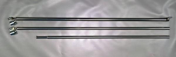 Dachauflagestange Stahl Ø 22 mm 170 - 260 cm