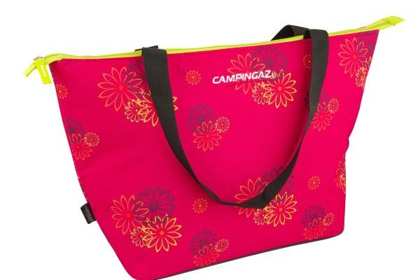 Campingaz Pink Daisy Shopping Cooler