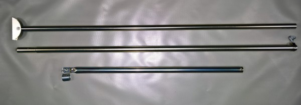 Orkanstütze Stahl Ø 25 mm 170 - 260 cm