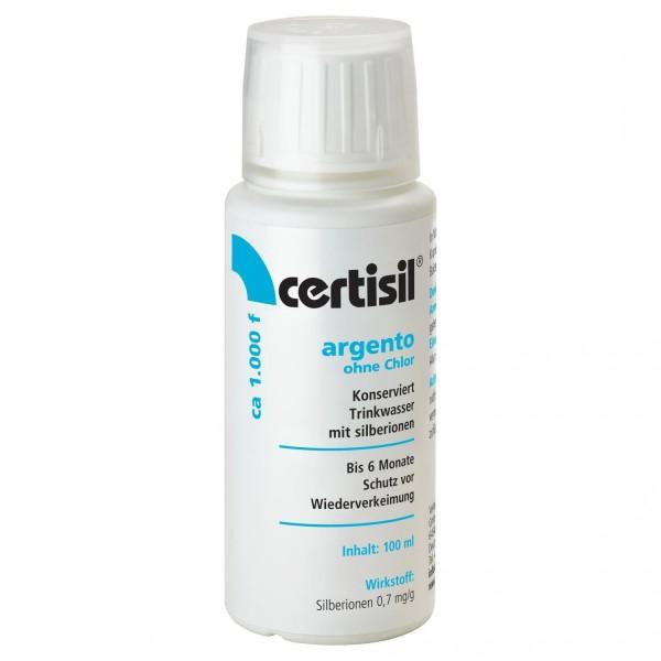 CERTISIL Argento für Trinkwasser ohne Chlor, flüssig