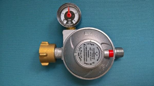 Druckregler mit Manometer 50 mbar