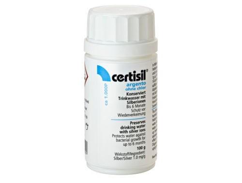 CERTISIL Argento für Trinkwasser ohne Chlor, Pulver