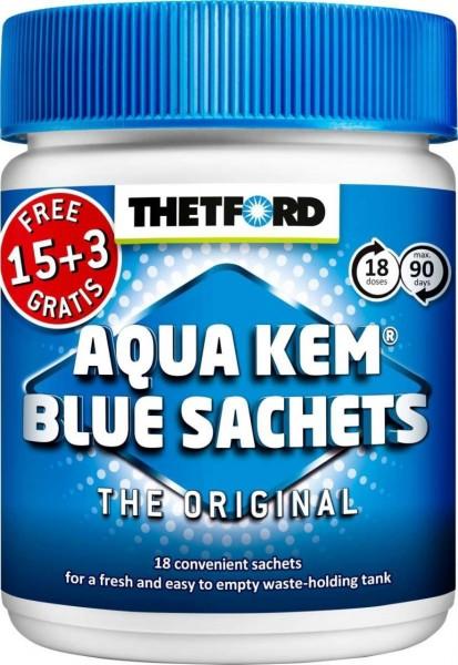 Thetford Aqua Kem Blue Sachets 15 + 3