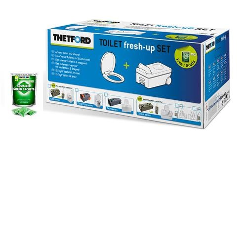 Thetford Fresh-Up Set für C250/C260, neues Modell